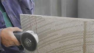 Как срезать край плитки,на угол под 45°(В ролике показан несложный и доступный каждому способ,как сделать запил края плитки на угол под 45° и при..., 2015-05-20T19:34:33.000Z)