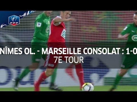 Coupe de France, 7e tour : Nîmes Olympique - Marseille Consolat (1-0), le résumé