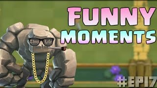 Funny Moments, Glitches, Fails, Wins and Trolls Compilation #17 | CLASh ROYALE Montage