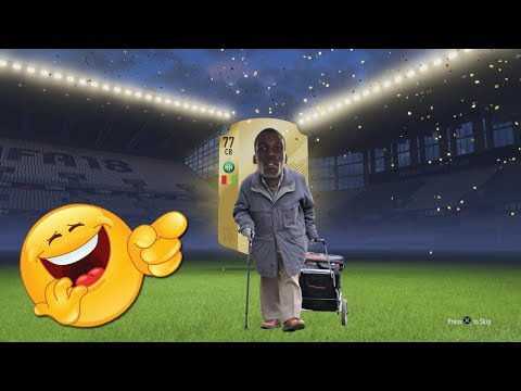 POGBAS DAD IN A PACK - WTF ARE THIS TWO PLAYER PACKS!! FIFA 18