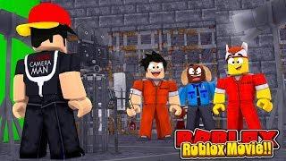 ROBLOX - MAKING A JAIL BREAK ROBLOX MOVIE!!