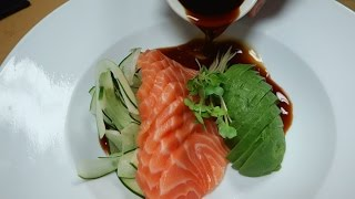 Salmon Avocado Salad - How To Make Sushi Series