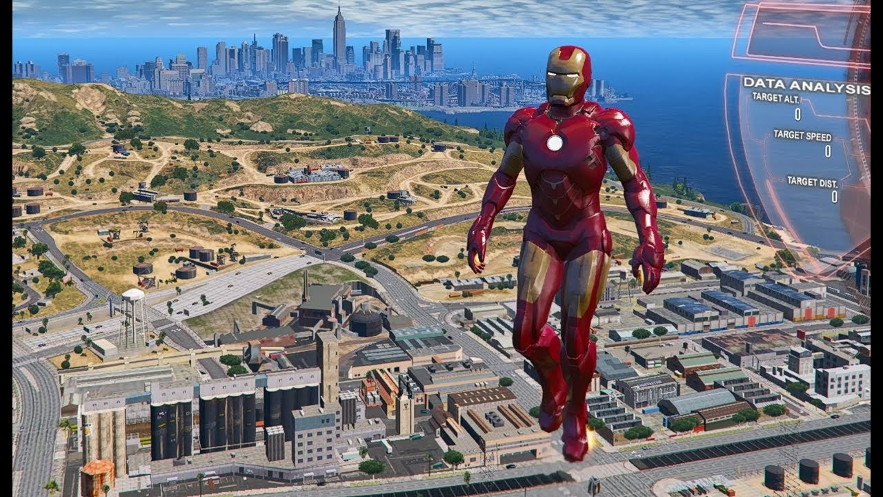 GTA 5 Iron Man Mod v2 4 5b - New Criminals Script
