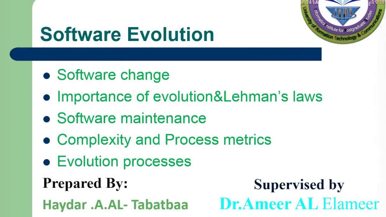 Software Evolution