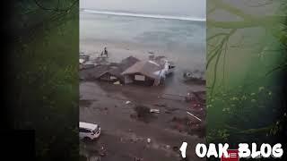 Indonesia Tsunami 2018 ~Breaking News   ~CCTV & CAM~Viral Today