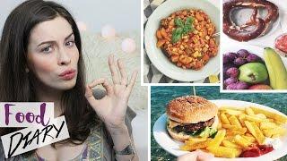 FOOD DIARY: Meine ERNÄHRUNG | 1 WOCHE | VEGETARISCH bis FAST FOOD