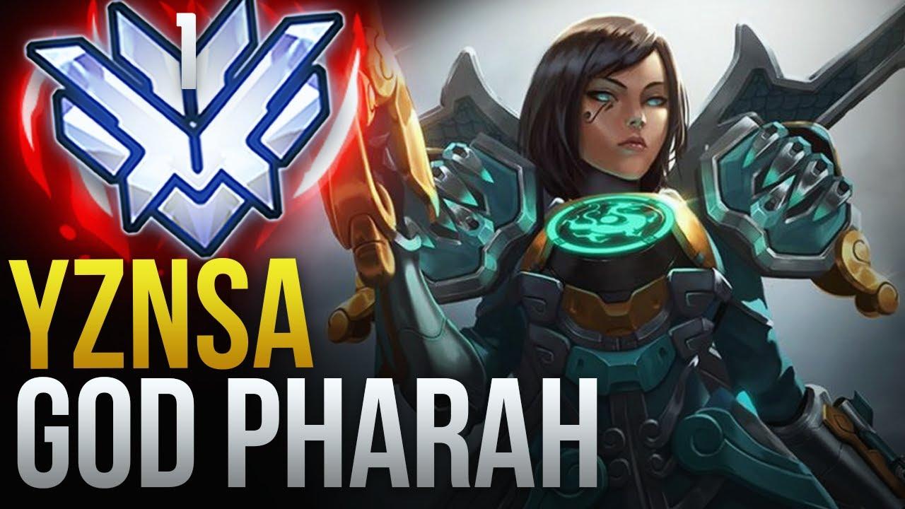 "THE RANK 1 PHARAH ""YZNSA"" - Overwatch Montage"