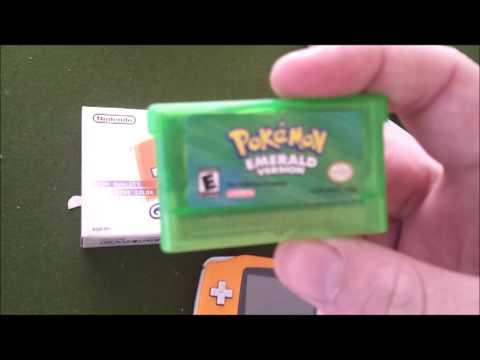 Gameboy Advance Unboxing + Pokemon Emerald Unboxing