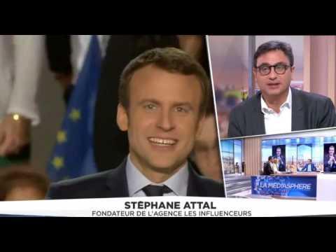 """""""La Médiasphère de LCI"""" - L'émission qui égratigne le candidat marketing - 03.04.2017"""