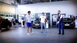 Выступление в салоне Volkswagen в Хабаровске
