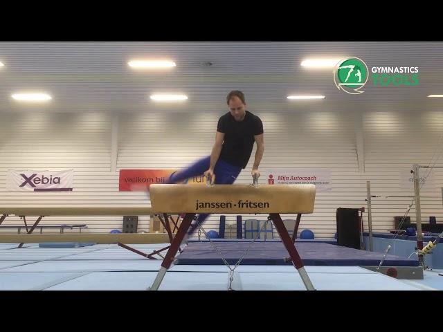 Scissor Drills & Exercises Pommel Horse Gymnastics 15