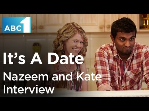 It's A Date: Nazeem Hussain and Kate McLennan interview (ABC1)