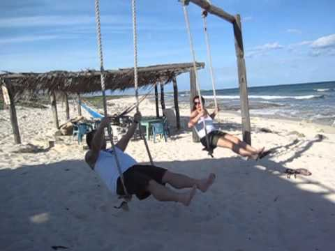 Swinging in cozumel