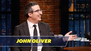 John Oliver reacts to being featured in People magazine's Sexiest Man Alive issue and rants about how much he doesn't care about the royal engagement.