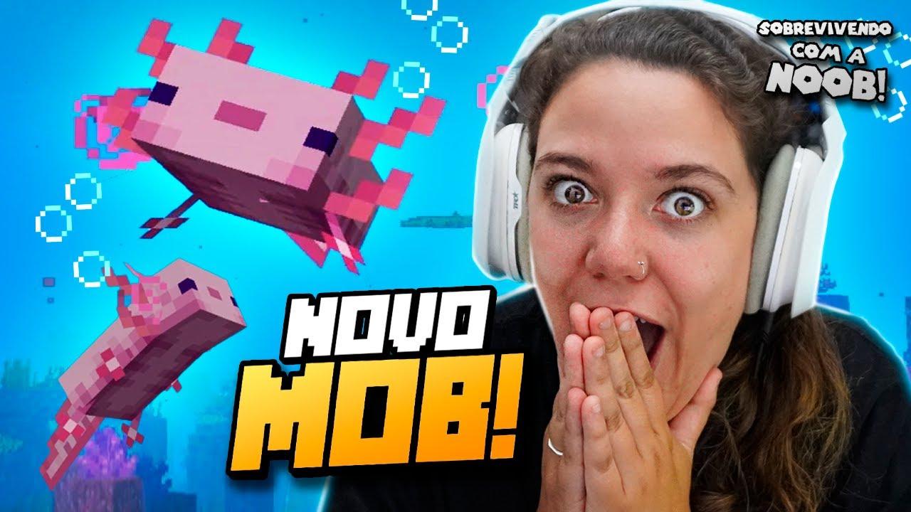 ENCONTRAMOS O NOVO MOB! - Sobrevivendo com a Noob #2