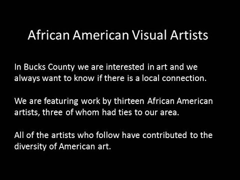 African American Visual Artists