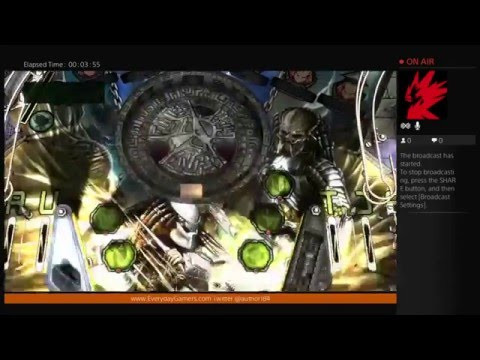 (PS4) Zen Pinball 2: Aliens vs Predator - First Look