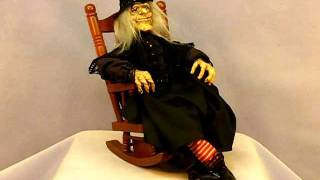Wind Up Rocking Chair Witch