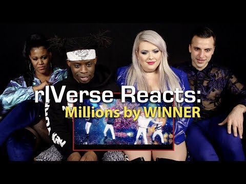 RIVerse Reacts: Millions By WINNER - M/V Reaction