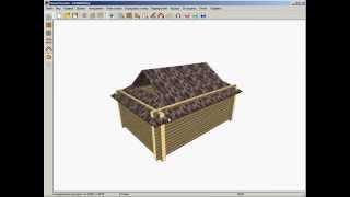 HouseCreator 3.0: построение крыши вручную
