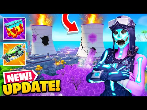 EVERYTHING *NEW* in Fortnite's Update! (Map Changes, Chilli Chug Splash + MORE)