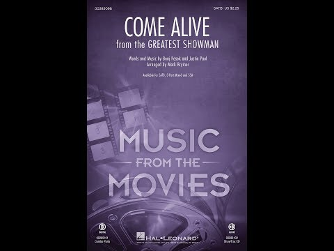 Come Alive (from The Greatest Showman)...