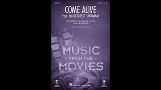 Come Alive (from The Greatest Showman) (SATB) - Arranged by Mark Brymer