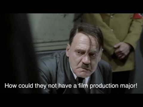 Hitler wants to study film production at UC Berkeley
