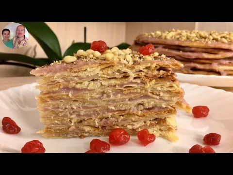 Торт наполеон рецепт со