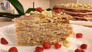 """Как Приготовить Постный Торт! Торт """"Наполеон""""!"""