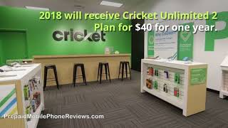 Cricket Unlimited 2 Plan for $40 for One Year When You Switch