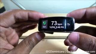 Unboxing Samsung Gear Fit en Espanol