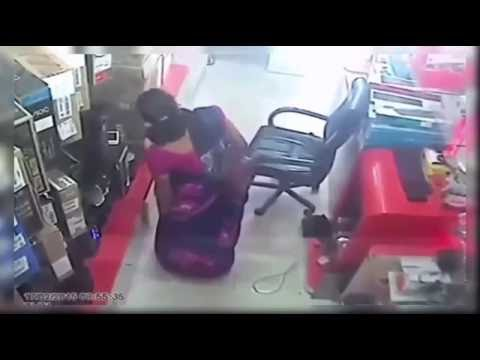 Best women stealing videos from all over the world CCTV #3