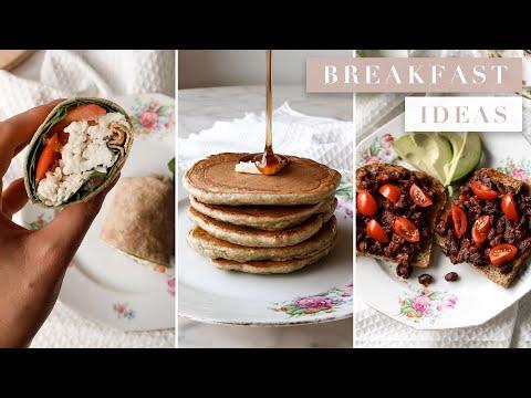 5 Healthy Vegetarian Breakfast Ideas for Monday Through Friday   by Erin Elizabeth