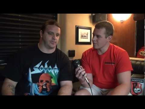 George Fisher - Cannibal Corpse Interview At The Slowdown - Backstage Entertainment