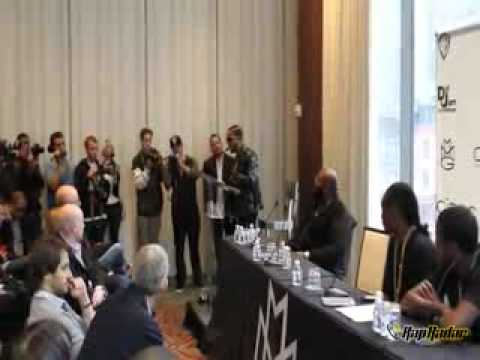omarion signing to MMG Press Conference