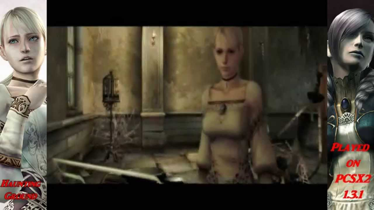 Haunting Ground NTSC-US Played on the PC using PCSX2 1 3 1 Emulator Full  Speed 60 FPS HD1080p by Vampires Crypt