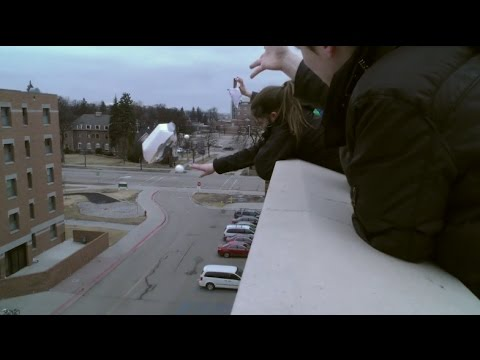 University of North Dakota's Engineering Living and Learning Community Egg Drop