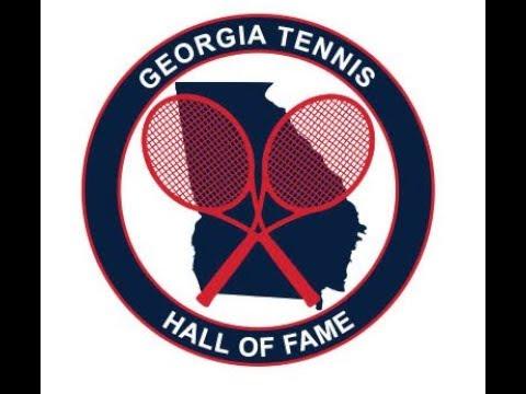 Georgia Tennis Hall of Fame Ceremony 2017