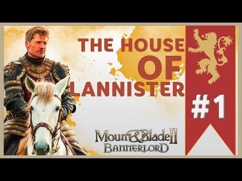 Mount & Blade II: Bannerlord 1 CHIẾN DỊCH NHÀ LANNISTER, MAX ĐỘ KHÓ THÁCH THỨC NHÀ SẢN XUẤT GAME !!
