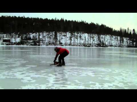 Chainsaw Ice Racing