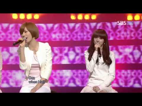 After school - when i fall (애프터 스쿨 - when i fall)   100207 sbs 인기가요