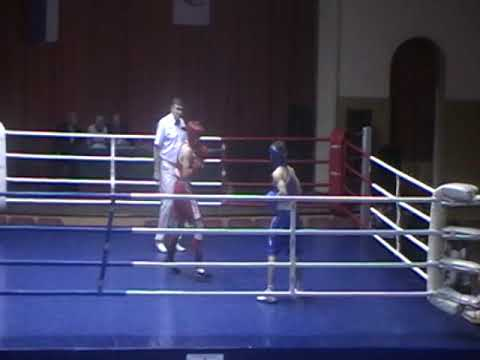 Бокс кондрово Юрий Шмелев  кр.угол