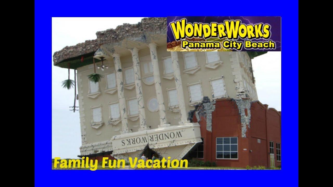 WONDERWORKS Upside Down Building In Panama City, Florida! Family Fun  Vacation
