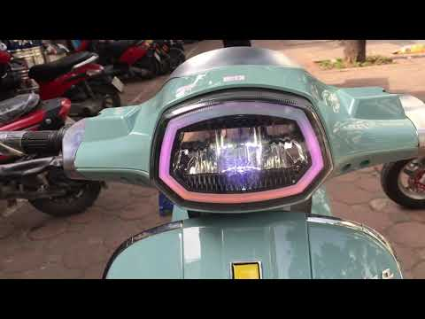 Xe Máy điện Vespa Lx150 đèn Vuông 2020 Nhập Khẩu Chính Hãng