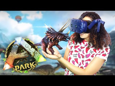 JURASSIC WORLD IN VIRTUAL REALITY! | Ark Park VR Gameplay (H