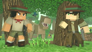 Minecraft: DESAFIO DO JURASSIC WORLD! (Série Desafios)