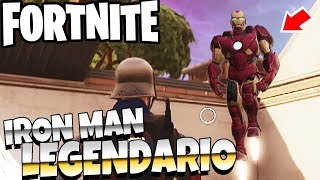 FORTNITE - FIND IRON MAN IN THE GAME IMPOSSIBLE SECRET