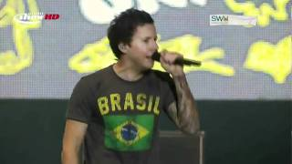 You Suck At Love - Simple plan (Live) SWU 2011 HD
