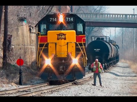 Railfanning The Iowa Interstate Railroad: CBBI, Switching, And More!